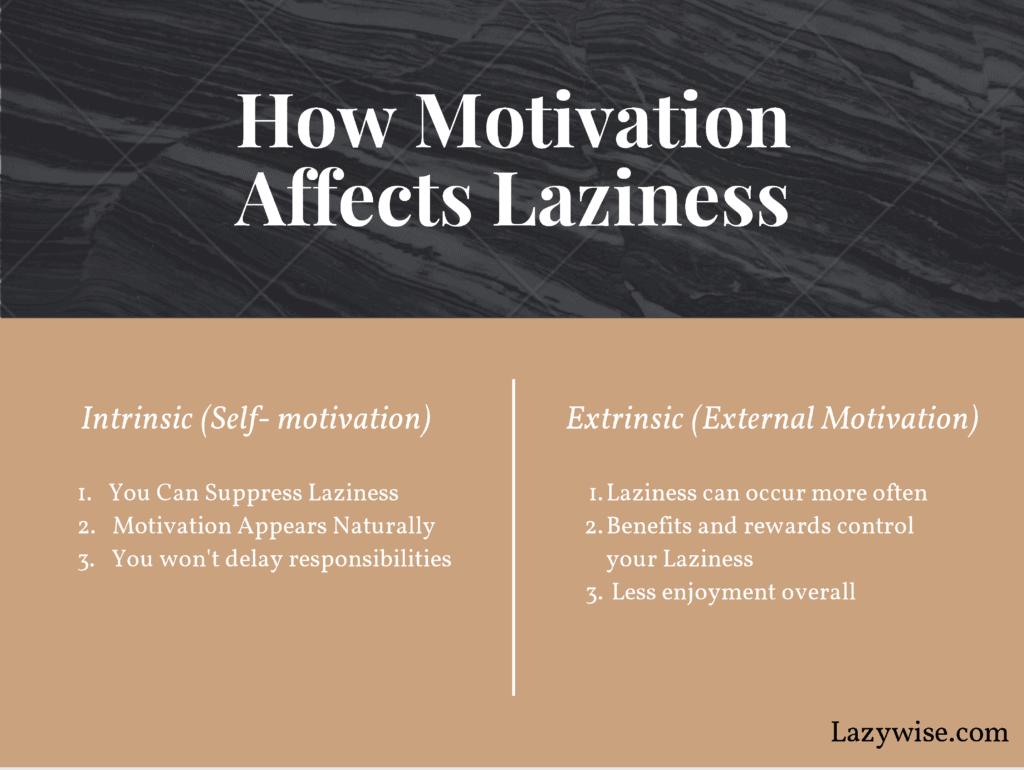 Motivation and Laziness